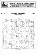 Bigelow Township  Directory Map, Marshall County 2006