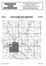 Blue Rapids City Township  Directory Map, Marshall County 2006