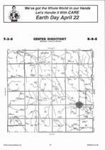 Center Township, Winifred,  Directory Map, Marshall County 2006