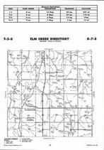 Elm Creek Township, Schroyer, Alcove Spring,  Directory Map, Marshall County 2006