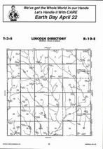 Lincoln Township Directory Map, Marshall County 2006