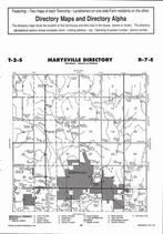 Marysville Township  Directory Map, Marshall County 2006