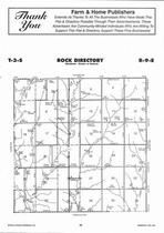 Rock Township  Directory Map, Marshall County 2006