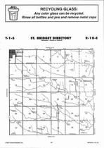 St. Bridget Township, Summerfield,  Directory Map, Marshall County 2006