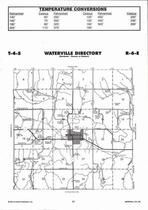 Waterville Township  Directory Map, Marshall County 2006
