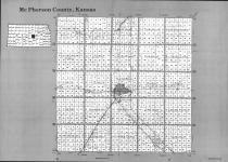 Index Map, McPherson County 1993