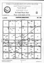 Canton T19S-R1W, McPherson County 1993
