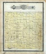 Hayes Township, blue Hill P.O., Walnut Creek, Antelope, Lone Hill, Mitchell County 1902