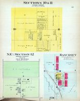Section 10 and 11, N.E. One Fourth Section 12, Bancroft, Nemaha County 1908