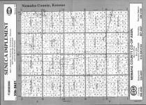 Index Map, Nemaha County 1992