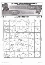 Adams Township, Kelly,  Directory Map, Nemaha County 2006