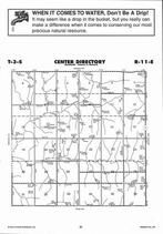 Center Township  Directory Map, Nemaha County 2006