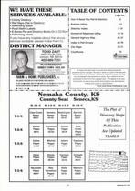 Index Map, Nemaha County 2006