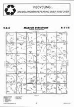 Marion Township, Baileyville,  Directory Map