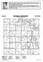 Mitchell Township  Directory Map, Nemaha County 2006
