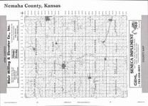 Nehama County Map, Nemaha County 2006