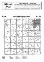 Rock Creek Township, Sabetha,  Directory Map