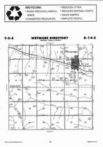 Wetmore Township, Bancroft,  Directory Map, Nemaha County 2006