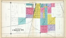 Chanute Kansas Map.Neosho County 1906 Kansas Historical Atlas