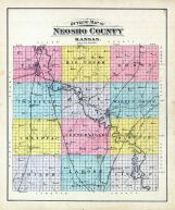 County Outline, Neosho County 1906