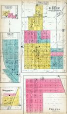 Erie City, Kimball, Shaw, Morehead, Urbana, Neosho County 1906