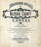 Title Page, Neosho County 1906
