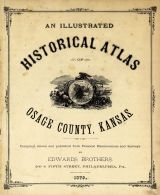 Title Page, Osage County 1879