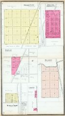 Craig City, Mona City, Rosemont, Barclay, Dragoon, Michigan Valley, Carbon Hill, Osage County 1899