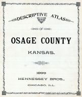 Title Page, Osage County 1899
