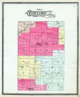 Township 14 S. Range 17 E. Part, Union P.O., Overbrook, Osage County 1899