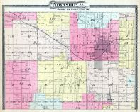 Township 15 S. Range 13 and 14 E., Burlingame, Dragoon, Osage County 1899