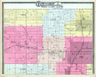 Township 16 S. Range 13 and 14, Osage City, Craig City, Peterton, Osage County 1899