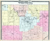 Township 18 S. Range 13 and 14 E., Arvonia, Osage County 1899