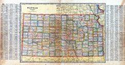 State Map, Osborne County 1917