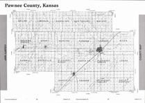 Pawnee County Map, Pawnee County 2007