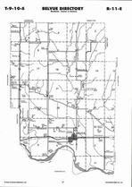 Belvue Township  Directory Map, Pottawatomie County 2006