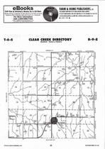 Clear Creek Township, Blaine,  Directory Map, Pottawatomie County 2006