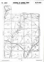 Green Township - East,  Directory Map, Pottawatomie County 2006