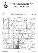 Rock Creek Township, Westmoreland,  Directory Map, Pottawatomie County 2006