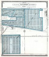 Hutchinson City - Section 17, Reno County 1918