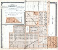 Hutchinson City - Sections 1 and 2 - Part, Reno County 1918