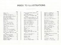 Index to Illustrations, Reno County 1918
