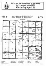 Salt Creek Township - South,  Directory Map, Reno County 2006
