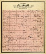 Fairview Township, New Tabor, Republic County 1884