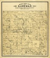 Lincoln Township, West Creek P.O., Republic County 1884
