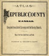 Title Page, Republic County 1884