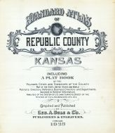 Title Page, Republic County 1923