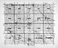 Rice County Outline Map, Rice County 196x