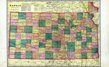Kansas State Map, Riley County 1909