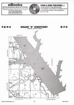 Grant Township - East, Turtle Creek Lake, Directory Map, Riley County 2006